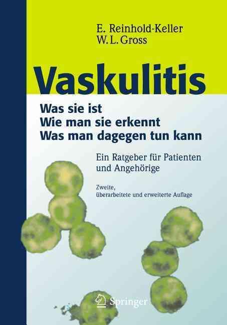 Vaskulitis By Reinhold-keller, Eva (EDT)/ Gross, Wolfgang L. (EDT)